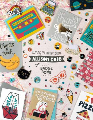 Allison Cole for Badge Bomb